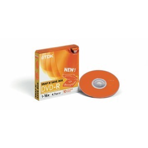 TDK SNAP N' Save BOX DVD-R