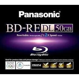 Panasonic  LM-BE50WE rewritable 50GB Blue-Ray skive