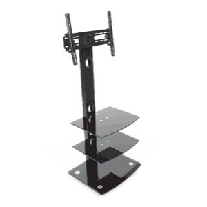 Connectech TV Stand med 2 hylder