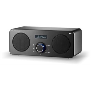 Scansonic DA300 FM/DAB+ med Bluetooth Sort