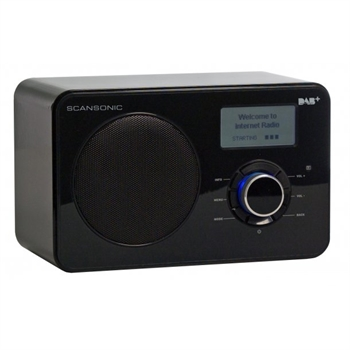 Scansonic IN-220 DAB+/FM/internet radio