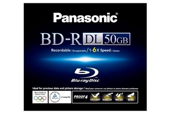 Panasonic  LE-BR50LWE engangs 50GB Blue-Ray skive