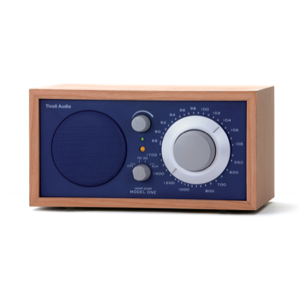 Tivoli Audio model One - Cherry / Cobalt Blue