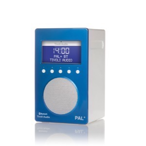 Tivoli Audio PAL+  BT Radio DAB/DAB+ blå/hvid