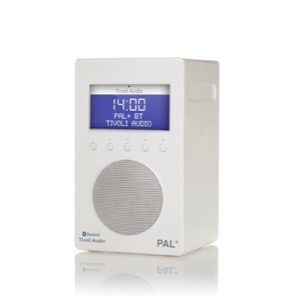 Tivoli Audio PAL+  BT Radio DAB/DAB+ hvid/hvid