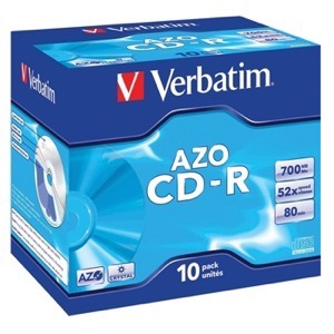 Verbatim CD-R 700MB 10 stk