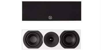 System Audio Saxo 10AV hvid satin center